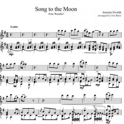 Antonin Dvorak: Song to the Moon