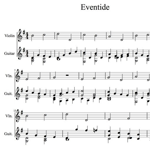 Adam Carse: Eventide