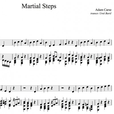 Adam Carse: Martial Steps